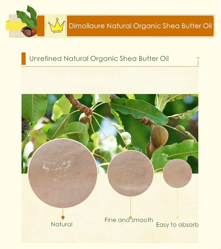 Dimollaure 50-200g Baku Alami Organik Dimurnikan Shea Butter Minyak - Perawatan kulit - Foto 5