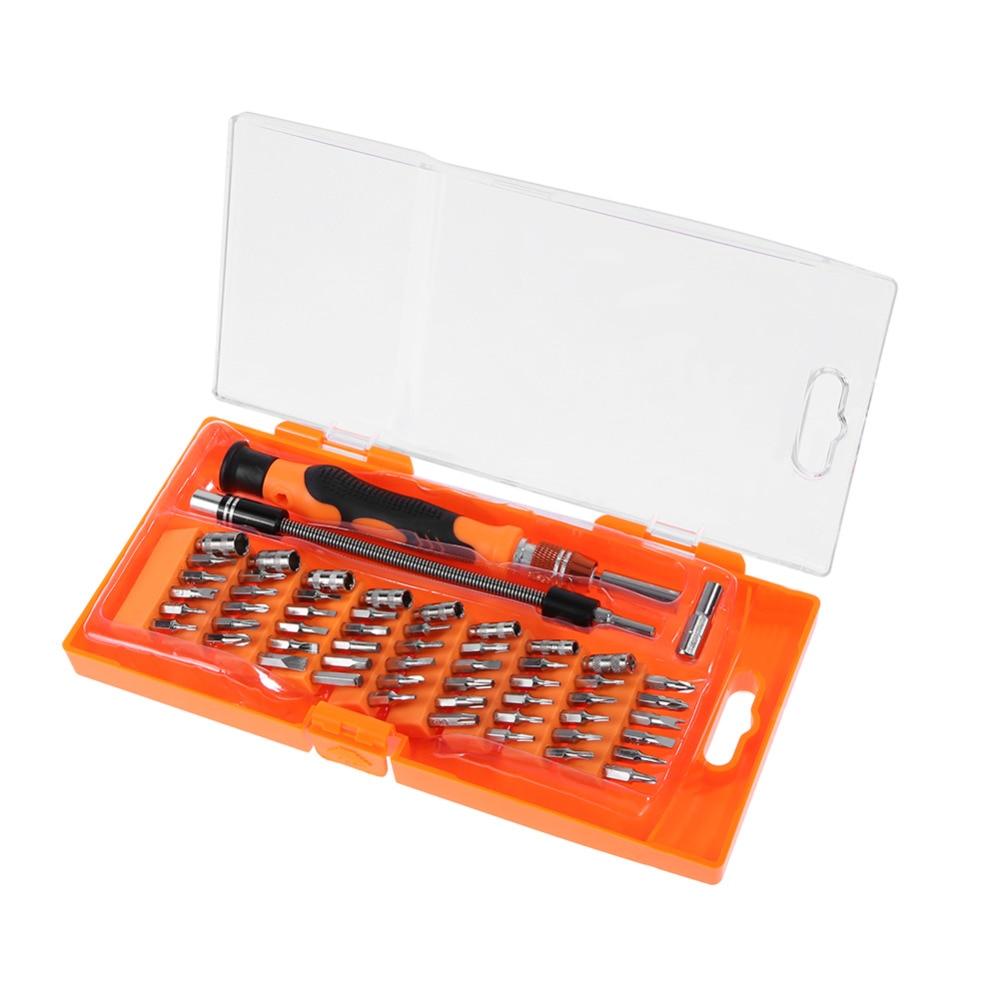 58 in 1 Screwdriver Set Professional Tool Multi-Bit Kit Phone Repair Tools ifixit Disassemble Repair for Smart Phone Table PC