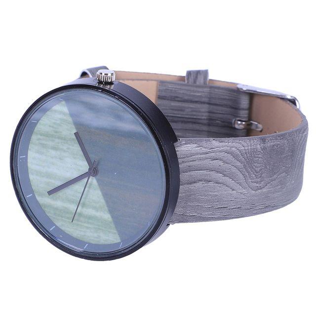 Luxury Imitation Wooden Watch Vintage Leather Quartz  1