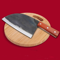 Handgemachte Geschmiedet Kochmesser Verkleidet Stahl Geschmiedet Chinesische Hackmesser Professionelle Küche Messer Fleisch Gemüse Schneiden Hacken Werkzeug-in Küchenmesser aus Heim und Garten bei