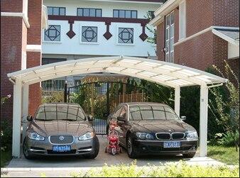 vert et protection de l 39 environnement voiture garage hangars aluminium voiture abris garage. Black Bedroom Furniture Sets. Home Design Ideas