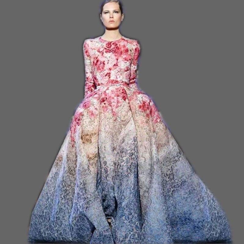 Online Get Cheap Long Sleeve Gown Dresses -Aliexpress.com ...