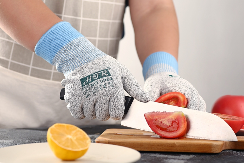 HPPE Anti Cut Safety Glove Aramid Fiber Cut Resistant Kitchen Work Glove цены онлайн