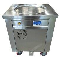Frete grátis único frigideira gelo/máquina de sorvete máquina de fritura|ice cream fry machine|ice pan machine|ice pan -