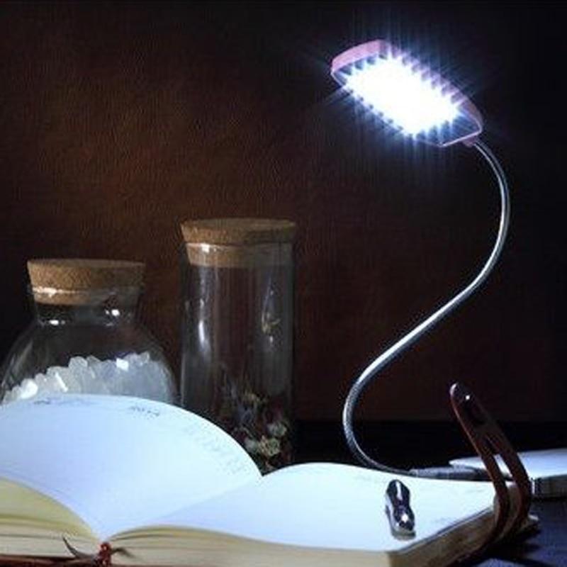 28 светодиод USB Мини Гибкий легкий ноутбук настольных ПК рабочий стол Чтение с кнопкой