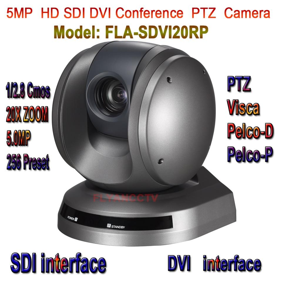 FLA-SDVI20RP 5MP Video Conference Meeting Room Camera PTZ Full HD High Quality  Camera Module 20X Zoom HD-SDI,DVI,CVBS,Ypbpr dannovo sony 20x zoom 1080p ptz video conference room camera support hd sdi hdmi ypbpr av video output visca pelco rs232 rs485