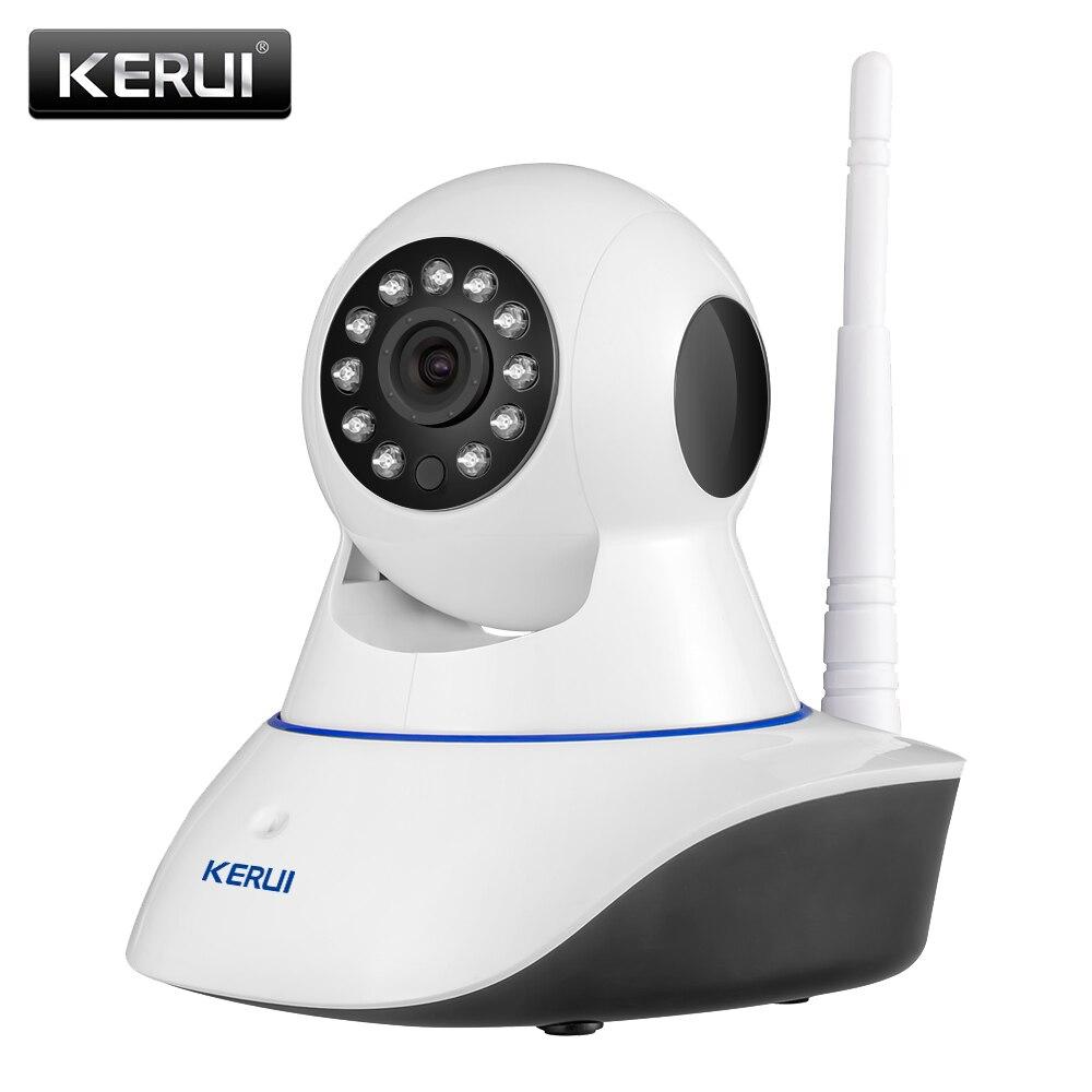KERUI 720 p 1080 p HD Sem Fio Wi-fi Câmera IP Network Security CCTV Vigilância Home Security Camera Visão Nocturna do IR monitor do bebê