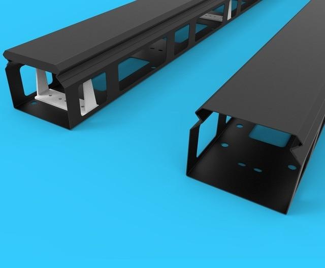 Wire Trough | 2m 42u Vertical Wire Slot Open Way Rack 800 Wide Cabinet Vertical