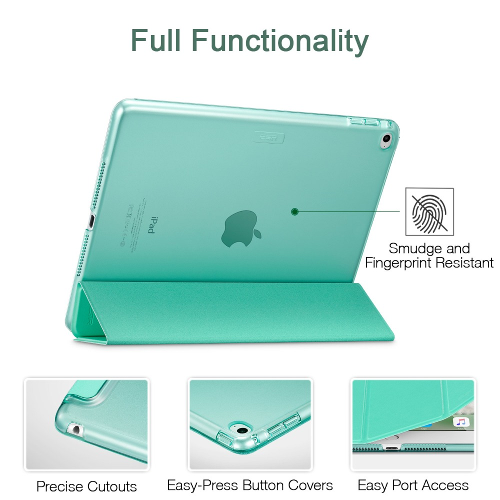 Case untuk iPad Air 2, ESR Yippee Color PU + Transparent PC Kembali - Aksesori tablet - Foto 5