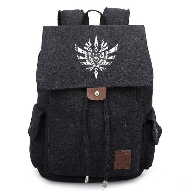 Game Manga Monster Hunter Rathian School Bag