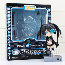 4 inch Nendoroid Black Rock Shooter Blade Version Miku Cute Action Figure Model No.106 retail C079