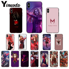 Yinuoda Scarlet Witch Avengers X-Pria Pola TPU Soft Phone Cell Phone Case untuk iPhone 6S 6 Plus 7 7 Plus 8 8Plus X XS Max 5 5S XR(China)