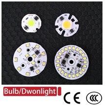 DIY LED Bulb Lamp SMD 12W 9W 7W 5W 3W COB Chip AC220V-240V Input Smart IC driver light beads