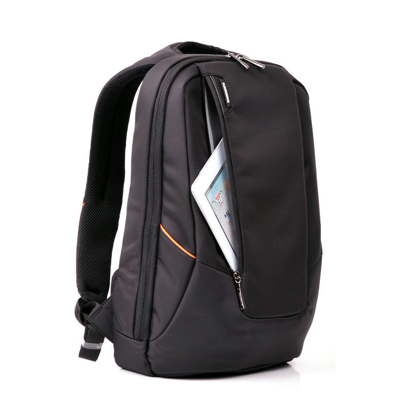 9c0cbab1951d Hot Sale 15.6 inch Water Resistant Laptop Backpack Black Computer Notebook  Bag Nylon College School Bag For Men Women Schoolbag-in Backpacks from  Luggage ...