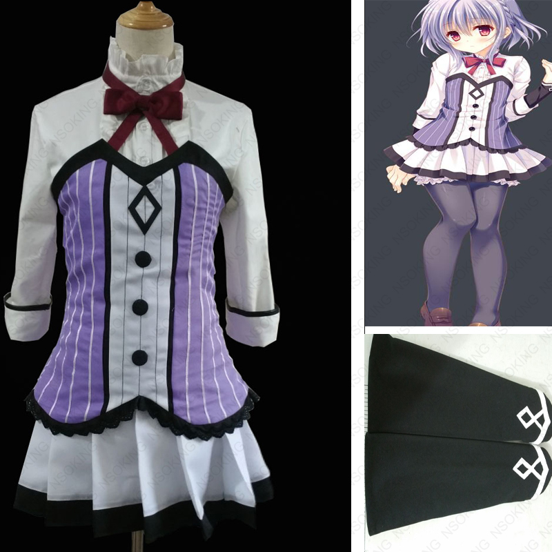 Anime OTOME DOMAIN Asuka Minato Cosplay Costume Tailor Made