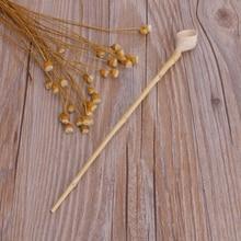 цена на Super-grade Bamboo Joints Matcha Powder Tea Spoon Scoop Tea Ceremony Tool Large