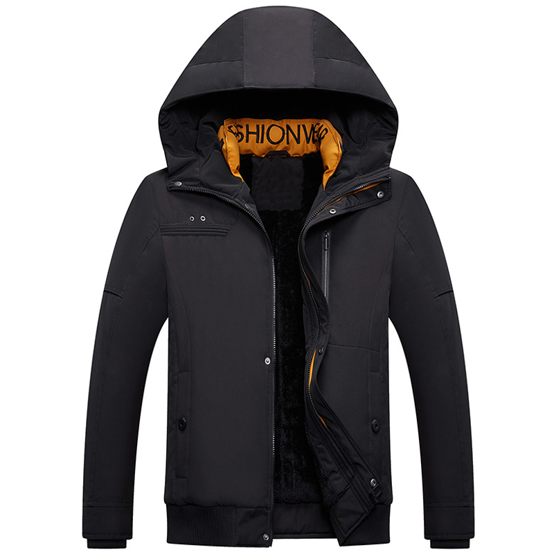 Winter Parka Men New Thicken Hooded Coat casaco masculino Male Outwear Thick Winter Jacket Windbreaker Fashion Parkas Clothes(China)
