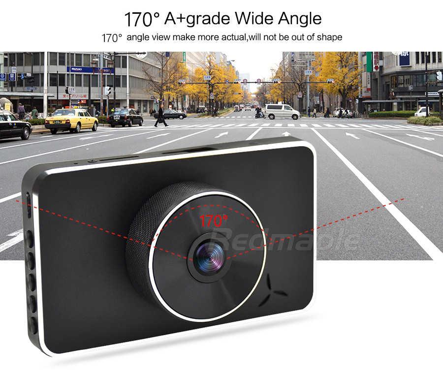 """3,0 """"Видеорегистраторы для автомобилей тире Камера Двойной объектив 170 градусов FHD 1080P Мини тире Камера Автомобильный видео Регистраторы автомобиля Камера регистратор Регистраторы"""