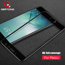 Full Cover Tempered Glass For Meizu M6S M6 Note M5S M5C M3 M5 Note Pro 7 Plus E3 M6 M5 M3S MX6 Pro 6 U10 U20 M3 Mini Glass Cover(China)