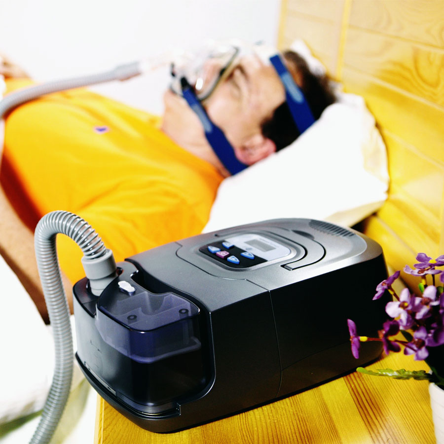 BMC CPAP Auto Machine GI Anti Snoring Automatic Portable Device With Silicone Full Face Mask Strap Tubing Filter For Sleep Apnea