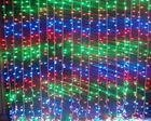 Hotel / karaoke decorative lights / Home background / red, yellow, blue, green and white LED decorative window curtain light