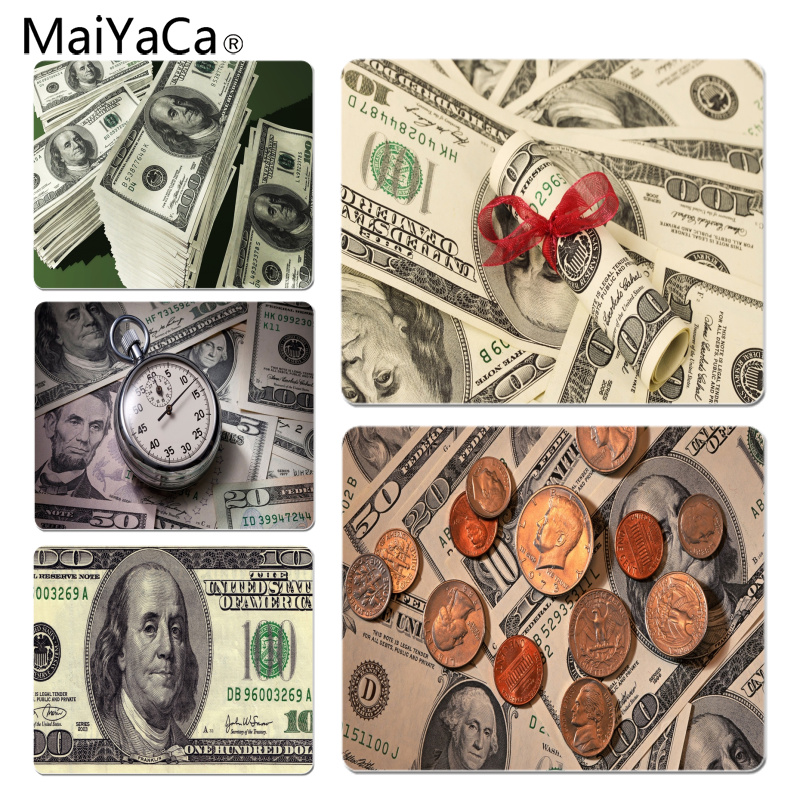 MaiYaCa Non Slip PC Dollar Computer Gaming Mousemats Size for 18x22cm 25x29cm Rubber Mousemats