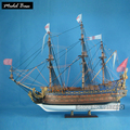 Wooden Ship Model Grown Ups Diy 1:90 Scale Models Wood Ships Kids Educational Games Assembly Model Boats Wooden LE SOLEIL ROYAL