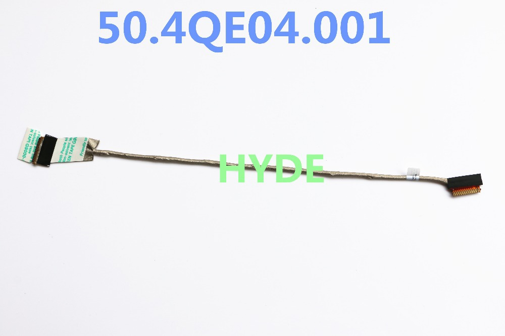 NEW KN4 50.4QE04.001 LCD LVDS CABLE FOR LENOVO THINKPAD T520 T530 W520 W530 HD+ LCD LVDS CABLE 40PIN