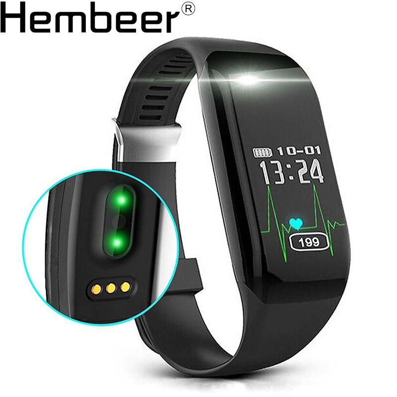 imágenes para H3 Actividad Rastreador Heart Rate Monitor Inteligente Wrist Band Pulsera de Fitness Inteligente Banda Reloj de Pulsera de teléfono de Alarma de Vibración