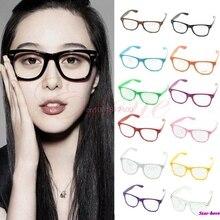 Мода очки cool мужская прозрачные линзы nerd geek очки очки для мужчин женщин