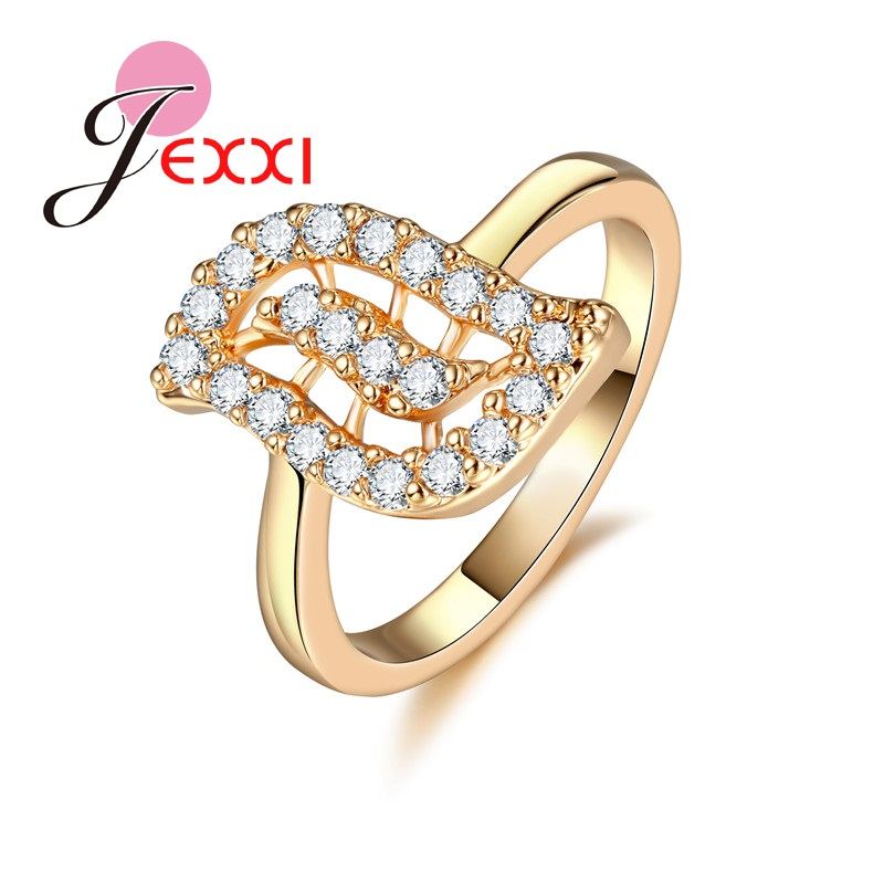 PATICO Beauty Eye Design Gold Color Women Rings Top Quality Crystal Decoration Jewelry A ...