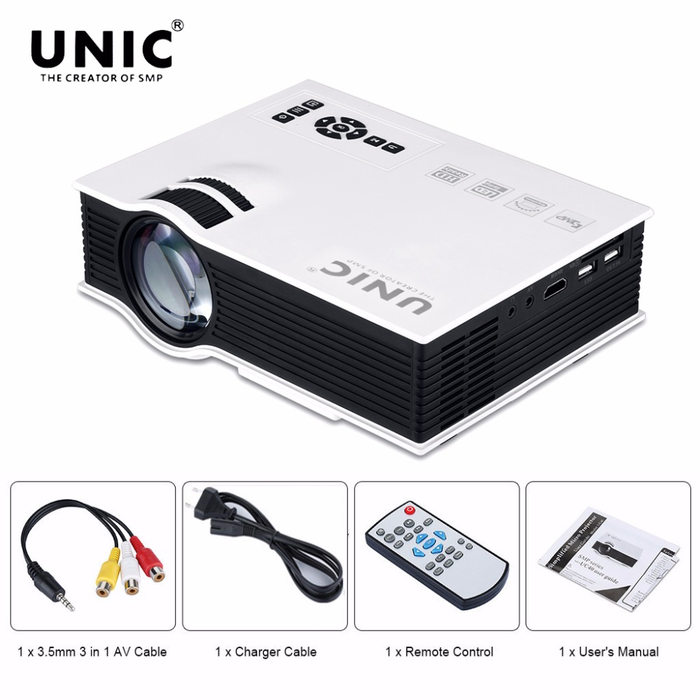 3d Hd Projector Home Theater Wiring Guide Residential Electrical Apple Tv Diagram Schematic Diagrams Unic Uc40 Mini Portable Lcd Hdmi Beamer Rh Aliexpress Com Movie