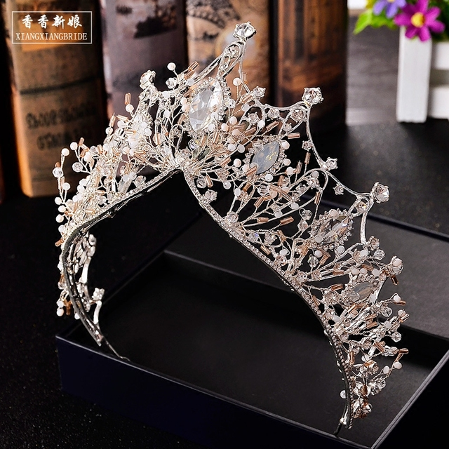 ThyWay Vintage Crystal Bride Bridal Wedding Hair Head Band Wear Rhinestone  Jewelry Headdress Headband Tiara Coronal fa33f5534a00
