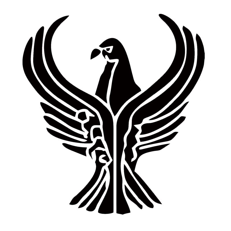 For Car Sticker Vinyl Decal Worldwide Shipping Personality The Eagle Stretched Its Wings Car Covers JDM