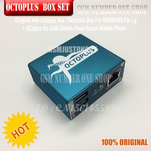 Image 5 - original new octoplus box octopus box 6 in 1 set  ( BOX+ 5PC CABLE ) Activated for LG samsung  Unlock Flash Repair Mobile Phone