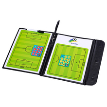 Foldable Football Soccer Magnetic Tactic Board with Marker Pen Portable Strategy Tool
