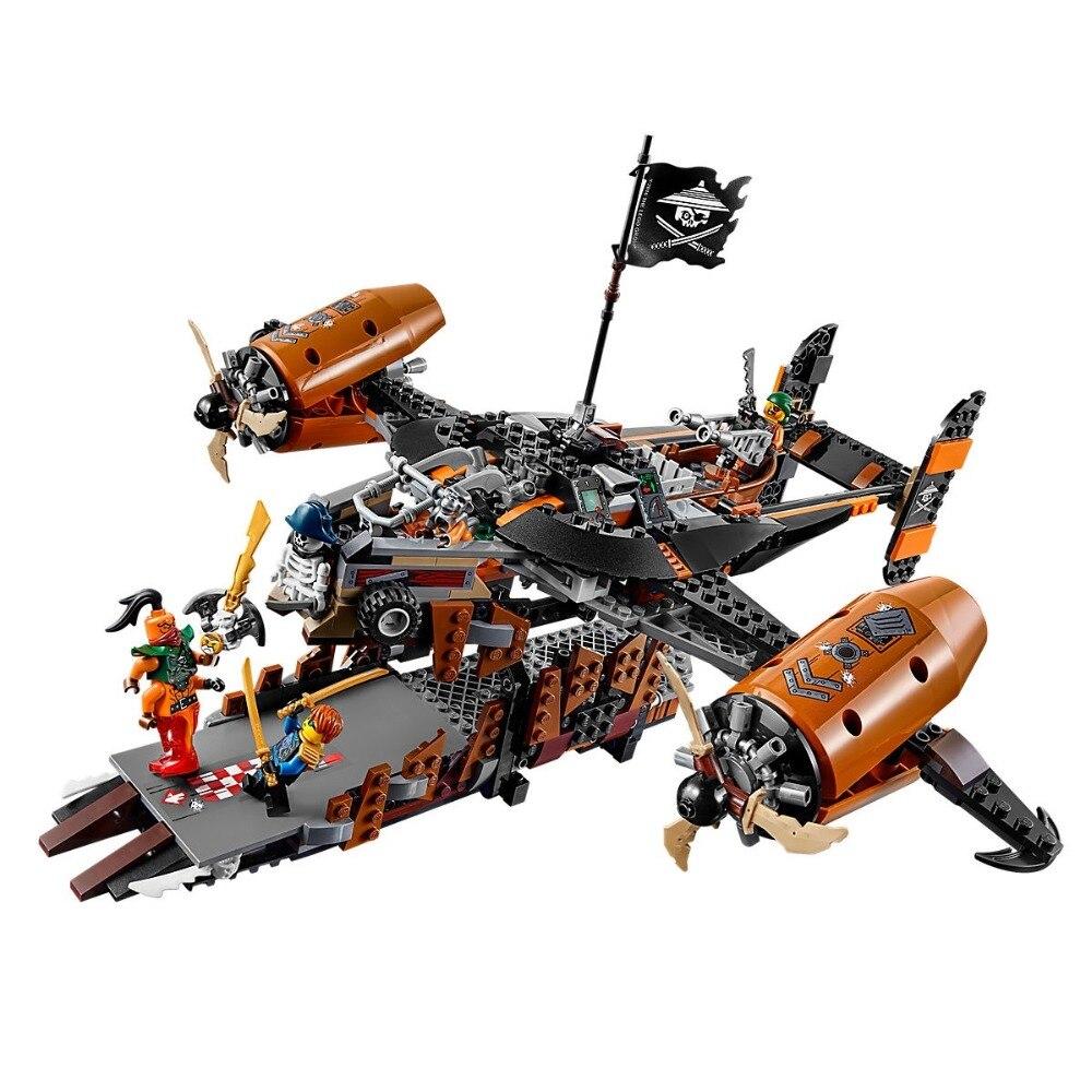 Compatibles Lego Ninjagoe Kit 70605 757 pièces Blocs De Construction jouets pour Enfants Briques Modèle Garçon Cadeau Malheur de Garder