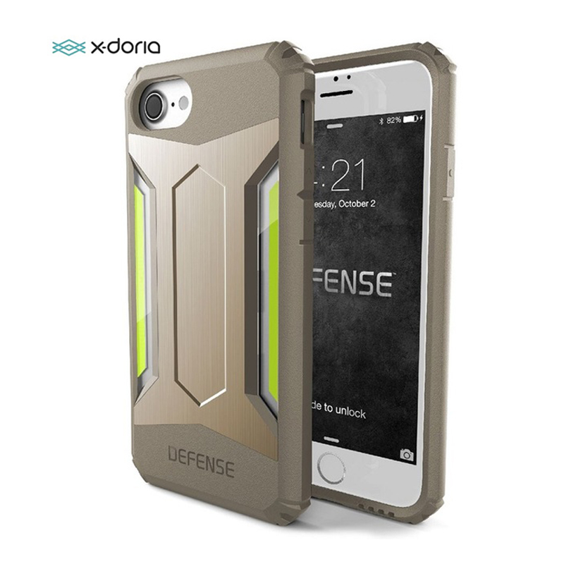 X-Doria Defense Gear Phone Case For IPhone 7 8 Plus Multi-Layer Thin Lightweight Military Drop Tested Case Cover For IPhone 7 8