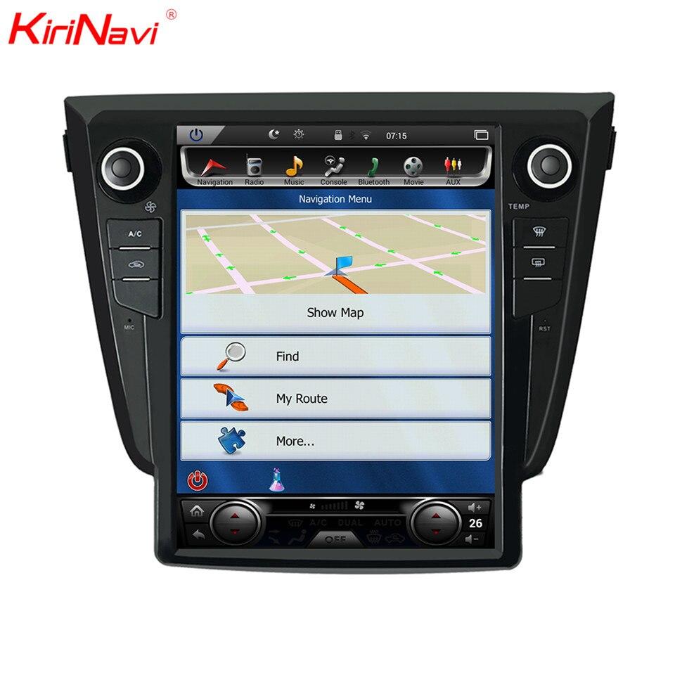 KiriNavi Verticale Dello Schermo Tesla Stile Android 12.1 pollice Auto Radio Per Nissan X trail Gps di Navigazione non Può Sostenere 360 macchina fotografica