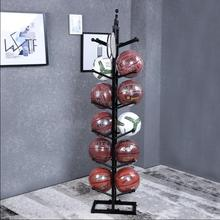 Iron basketball stand, storage home football display stand