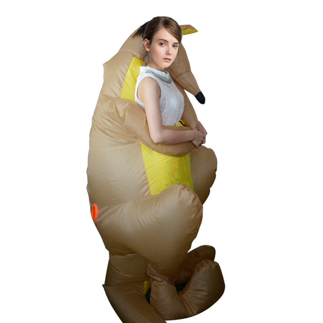 Funny Kangaroo Inflatable Costume Adult Carry on Animal Mascot Cosplay Cloth Blow Up Fancy Dress Halloween Party Christmas Gifts  sc 1 st  Aliexpress & Online Shop Funny Kangaroo Inflatable Costume Adult Carry on Animal ...