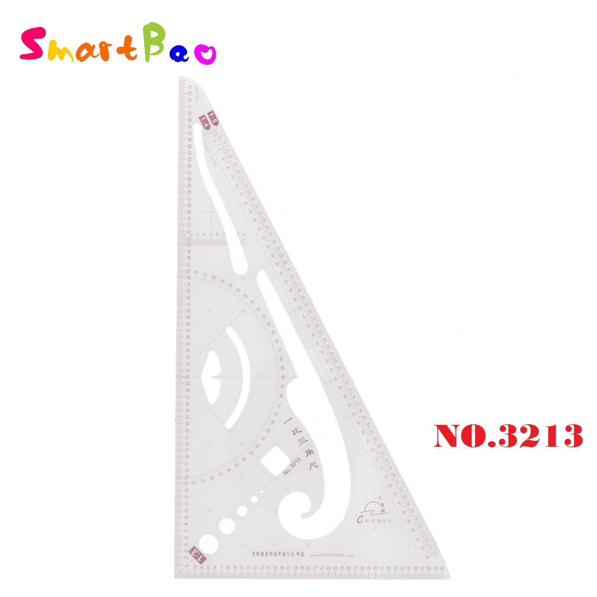 1:3 1:4 1:5 Scale Ruler Triangular Ruler Patchwork Ruler Clothes Measure Design