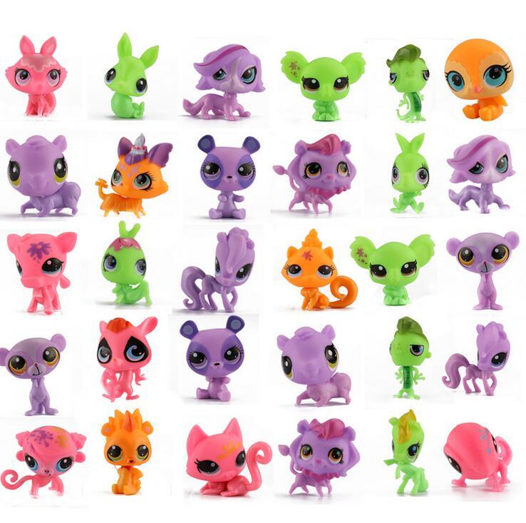 3 шт. немного зоомагазин фигурки lps игрушки подарок для девочек широкий немного зоомагазин подлинной кошка собака