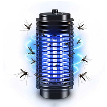 ZINUO 3W Mosquito Killer Lamp AC220V/110V Home Electronics Mosquito Killer Trap Moth Fly Wasp Led Night Lamp Bug Zapper