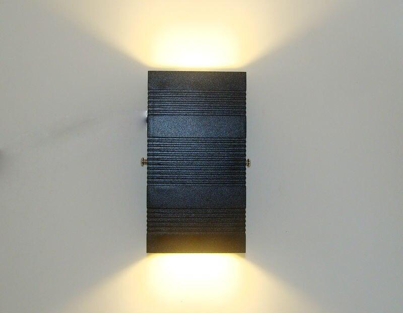 Moderno led lâmpada de parede ao ar