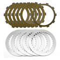 A set Motorcycle Engine Parts Clutch Friction Plates Kit & steel plates For HONDA CBR400 CBR 400 NC29 CBR29 CBR 29