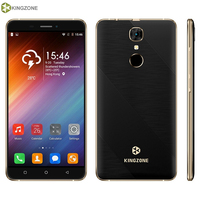 3G KINGZONE S20 RAM 1GB ROM 16GB Fingerprint Identification 5 5 Android 6 0 MTK6580A Quad