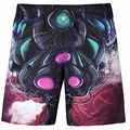 New Shorts Men Board Shorts Man Fashion Last Design Swag 3d  Vivid Man 3D board Shorts Boys Beach Shorts Free shipping