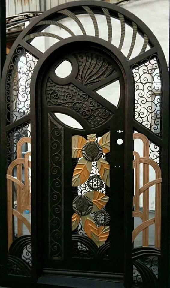 Luxury Iron Doors Wrought Iron Door With Sidelights