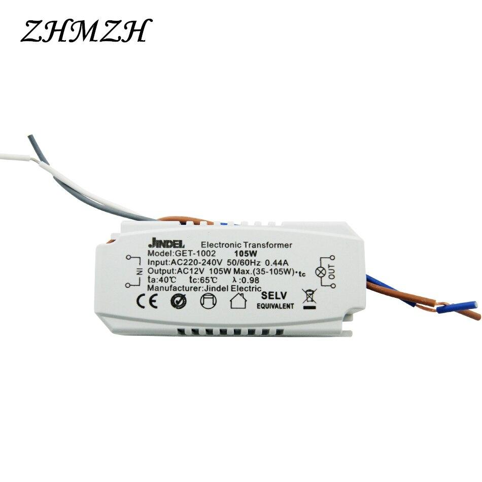 JINDELI AC220V į AC12V elektroninis transformatorius 60W 105W 120W - Apšvietimo priedai - Nuotrauka 5